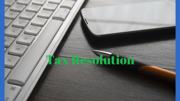 What is Tax Resolution?