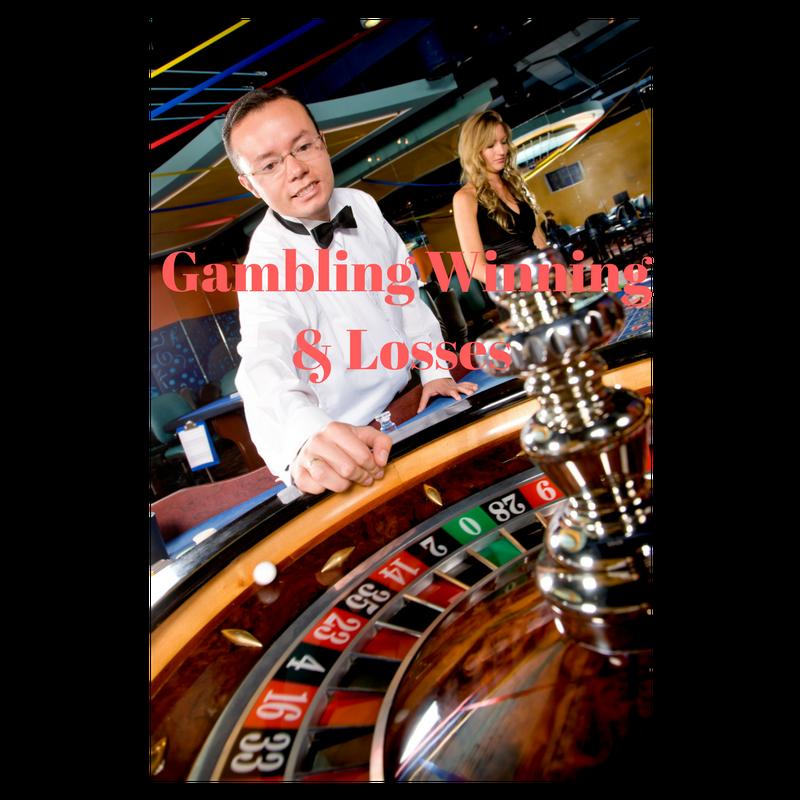 Write off gambling winnings gambling wagering cash real money